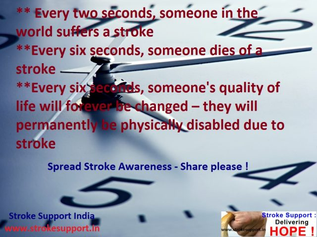 Stroke in seconds….