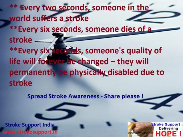 Stroke in seconds….