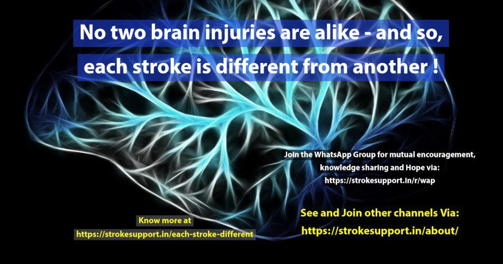 Each Stroke is Different from Another