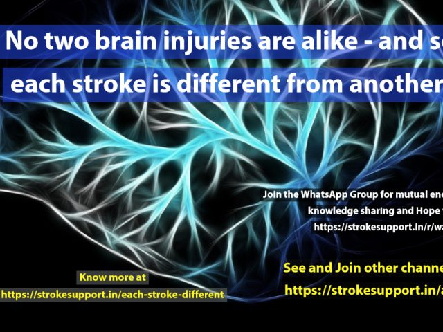 Each stroke is different- here is why !