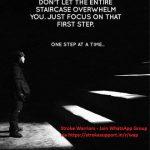 Step by step…