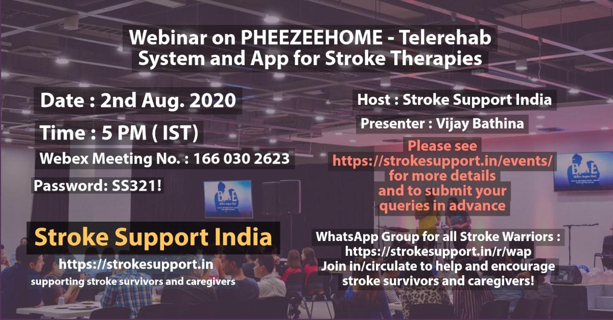 PHEEZEEHOME Telerehab System and App