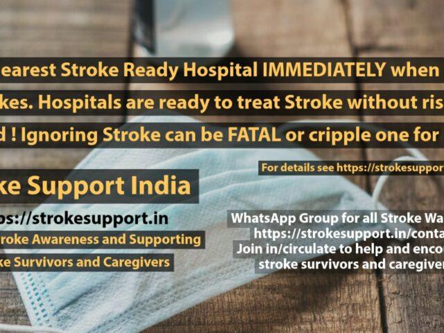 Stroke Treatment in Covid Times
