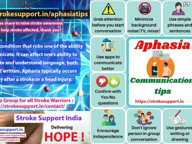 Aphasia tips : How to communicate effectively with Aphasia affected ?